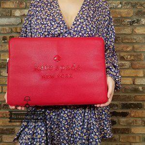 Kate Spade SIENNE LOGO Hot Chili Laptop Sleeve